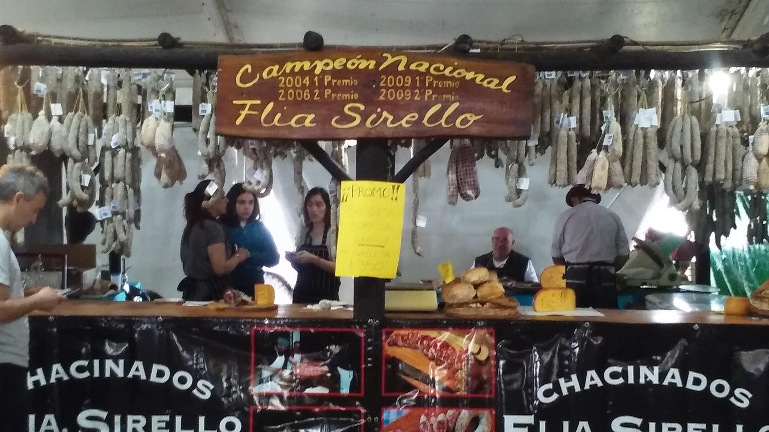 Fiesta del Salame Quintero: sabores con tradición