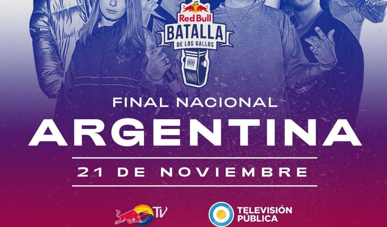 Este sábado, Red Bul Batalla de los Gallos Argentina 2020